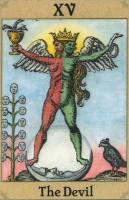 значение дьявола в раскладе таро