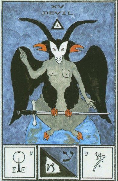 что значит карта дьявол в раскладе таро тота