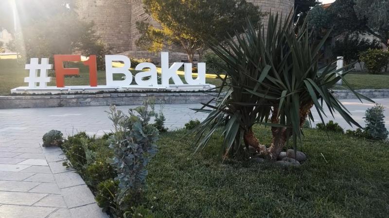 Baku. AzerbaijanGP 2017 F1