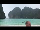 Пляж, где снимался фильм