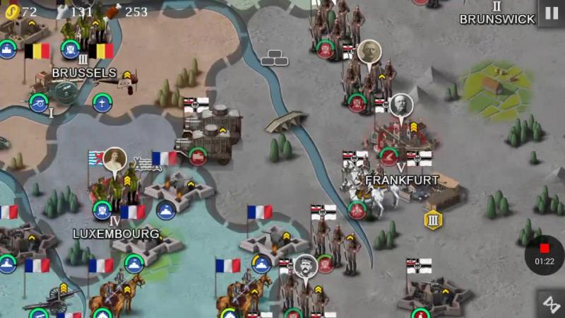 Битва Империй 1914-1919-6 Битва за Льеж—Bjs WWI Edition version 1.6