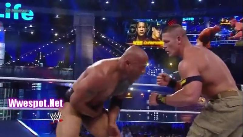 The Rock vs John Cena WWE Championship Match at WrestleMania 29