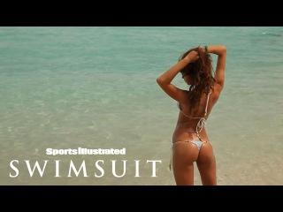 Irina Shayk Almost Loses Her Bikini Bottoms During Her Beach Shoot | Sports Illustrated Swimsuit