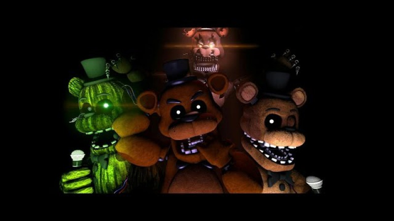 [SFM FNAN] Five Nights at Freddy's song. Mr Fazbear preview