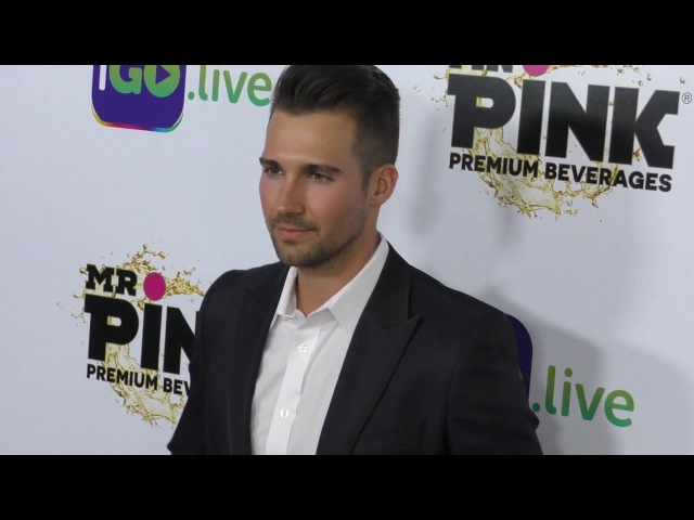 James Maslow at the iGo live Launch Event at Four Seasons Hotel in Beverly Hills