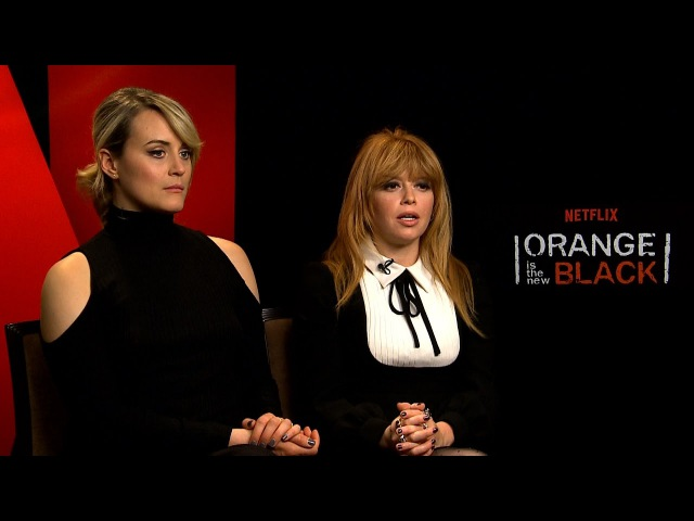 Interview with Taylor Schilling Natasha Lyonne for Season 5 of Orange Is The New Black