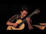 Johann Sebastian Bach Prelude in d-minor BWV 999 on Classical Guitar Klaus Paul  434 Hz