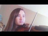 Blood Moon Waltz Violin Cover