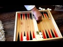 ✿ Играем в нарды Игра с кубиками Playing backgammon Playing with blocks ✿