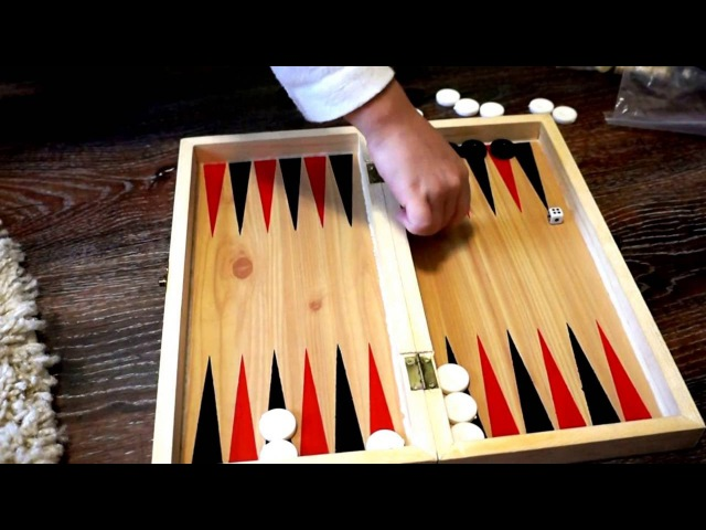 ✿ Играем в нарды Игра с кубиками! Playing backgammon Playing with blocks!✿