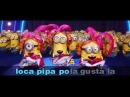 """Sing Papa Mama Loca Pipa"""" The Impossible Karaoke Challenge is on now DespicableMeChallenge"""