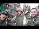 Русский солдат и бойцы Хезболла