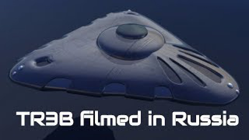 TR3B UFO filmed in Russia - Airplanes don't fly this slow!