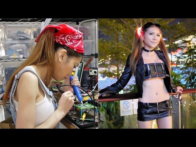 Blinkini- LCD Shutter Top