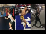 Pro Boxers making Fun on Conor McGregor's Media Day Warmup/Workout