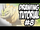 Drawing Tutorial 8 - Cel Shading Details and Textures