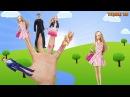 Семья пальчиков - Семья Барби - Barbie Finger Family Nursery Rhyme