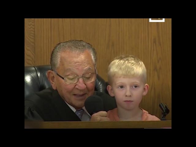 Судья посоветовался с сыном подсудимого и рассказал ему притчу. Что из этого выш...