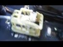 Устранение люфта рычага КПП переключения передач Opel Zafira A