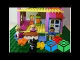 Строим дом из Лего Дупло! Английский для малышей Play English. Lego Duplo House.