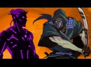 ТИТАН я иду игра Shadow Fight 2 Бой с тенью 55 Ассасин Падальщик Морок Пандемия Хлыст Душегуб КИД