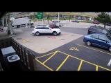 Посмотрите, как девушка спасла свой Subaru Outback от угона, запрыгнув на капот