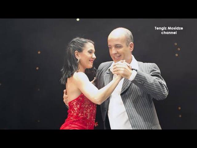 Tango. Horacio Godoy and Cecilia Berra. Танго. Орасио Годой и Сесилия Берра.