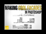 Make Cool and Easy Facade Drawings  in Photoshop