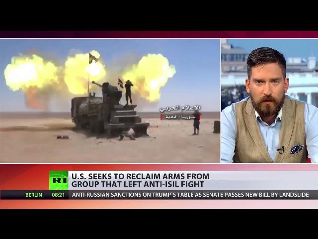 Syrien: US-Militär beendet Zusammenarbeit mit einer Rebellengruppe