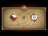 Чехия vs Израиль, Hearthstone Global Games Phase 2
