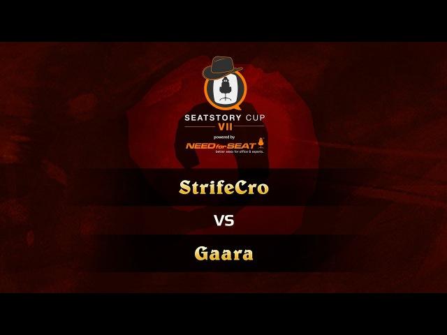 StrifeCro vs Gaara SeatStoryCup 7 Quaterfinals