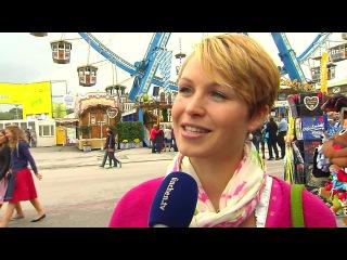 Магдалена Хольцер (Нойнер) на мероприятии BMW Wiesn Sport-Stammtisch 2016