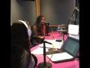 Our morning crew @JV @SelenaONAIR hanging out with @SkylarStecker - @Wild949's JVArtistoftheMoment JVShow