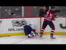 Malgin shaken up after devastating hit from Zacha