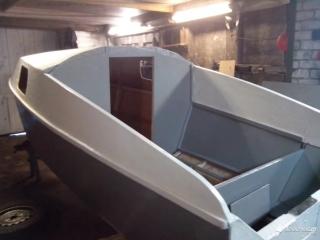 """Самодельная лодка - катер из фанеры """"Сом"""" Фанера 6 мм. 16 листов, 15кг. эпоксидной смолы"""