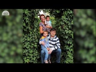 Максим Воронин и его семья