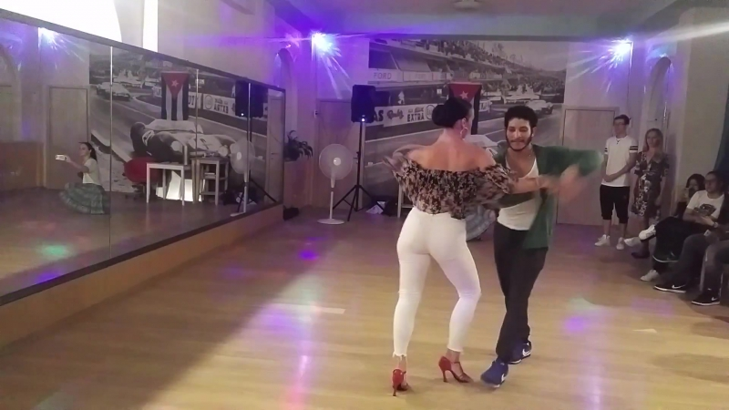 Наташа Сиренко и Луис, сальса 27.08.2017