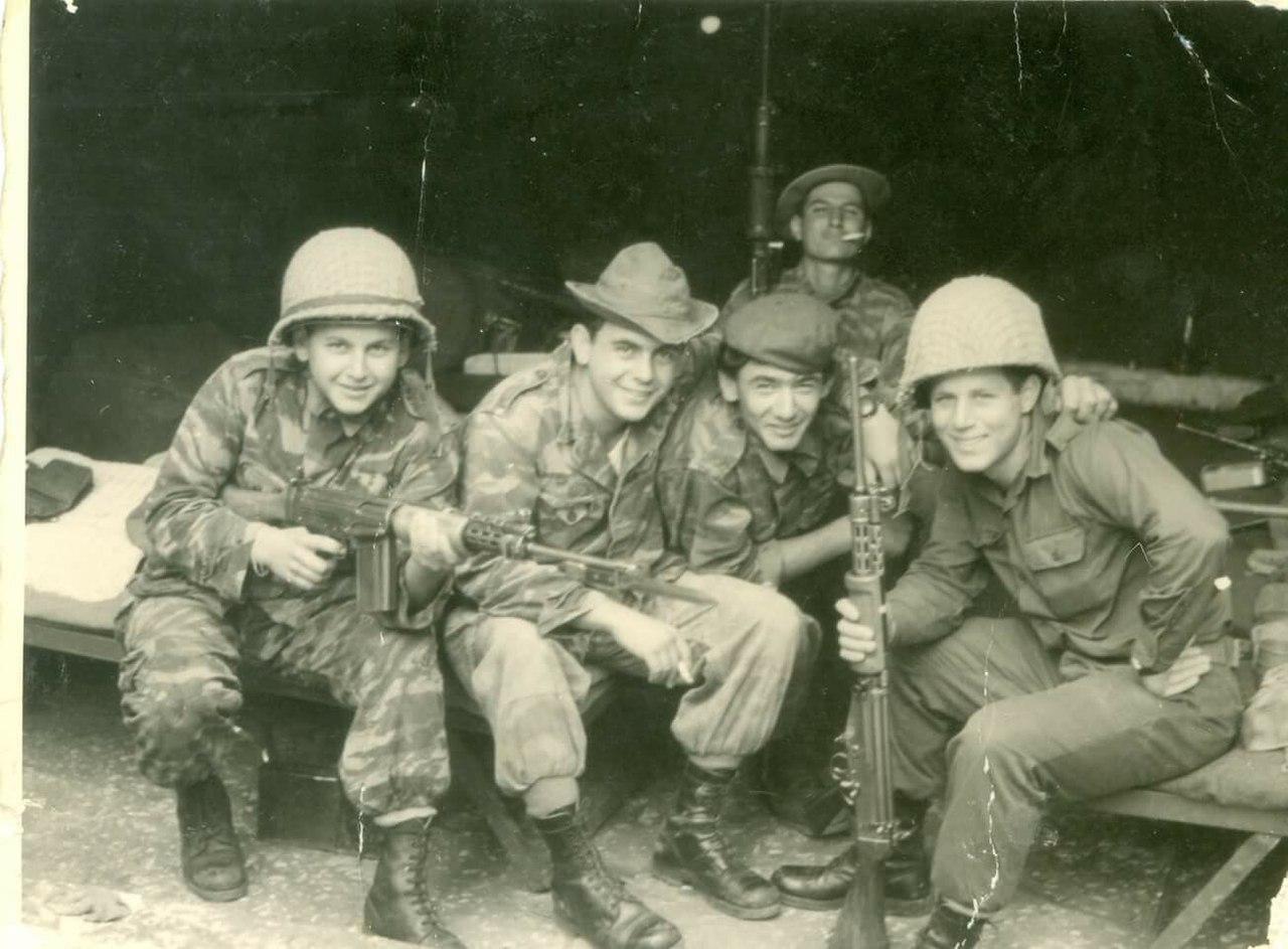 Стрелковое оружие ЦАХАЛа на 1967 г.