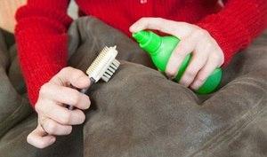 Почистить натуральную дубленку в домашних условиях