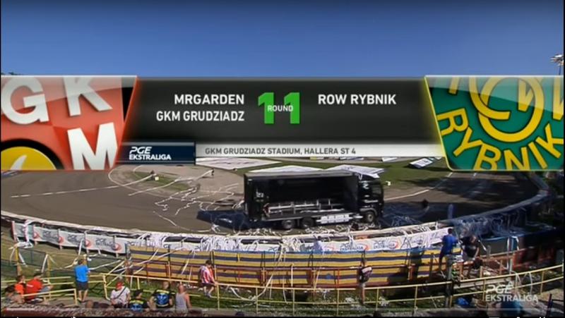 MRGARDEN GKM Grudziądz - ROW Rybnik (30.07.2017)