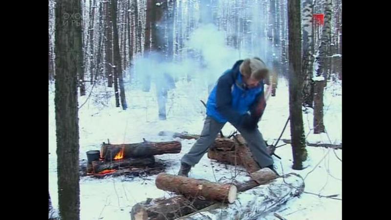 Следопыт с Глебом Данильцевым. Зимний палаточный лагерь 2 - тентовый лагерь.