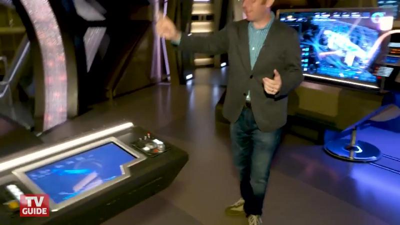Звездный путь: Дискавери (Star Trek: Discovery) - экскурсия по съемочной площадке