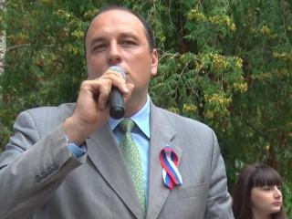 Глава города Вадим Родивилов поздравляет ржевитян с Днём флага РФ