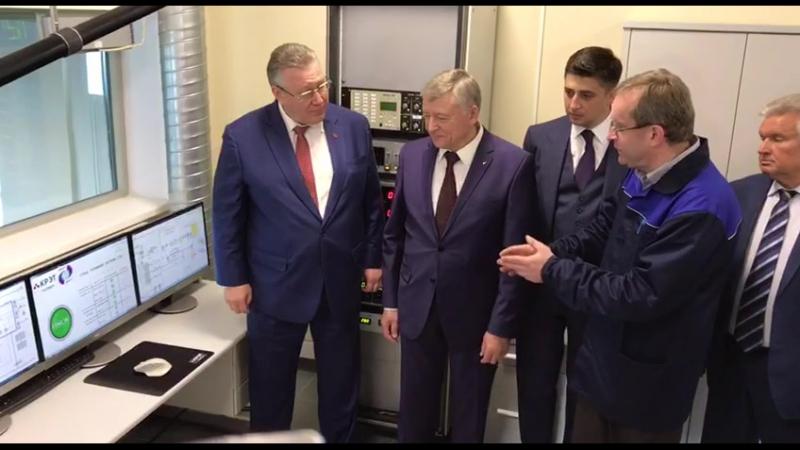 Запуск стенда топливной системы для новейшего российского лайнера МС 21 на заводе Техприбор