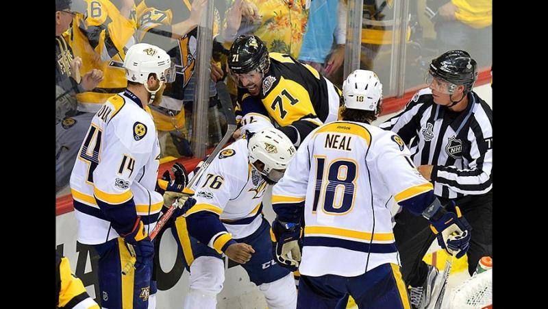 НХЛ 2016-2017 Плей-офф Финал. Матч 5 Питтсбург Пингвинз - Нэшвилл Предаторз 6-0 (09.06.2017)