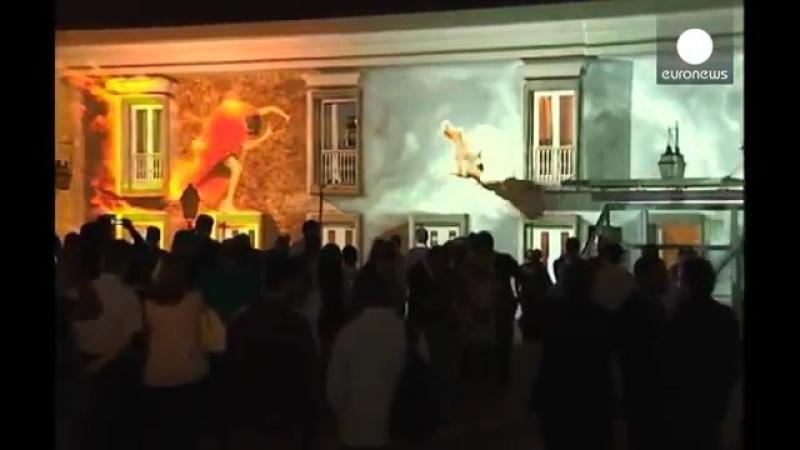 Португалия. Город Кашкайш в празднично ином свете