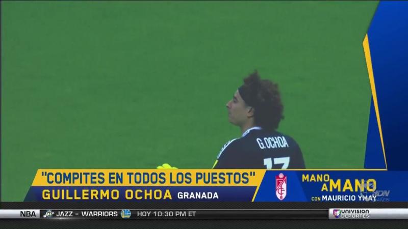 """Ochoa y la rotación de Osorio_ """"Me siento listo y preparado para jugar todos los minutos"""""""