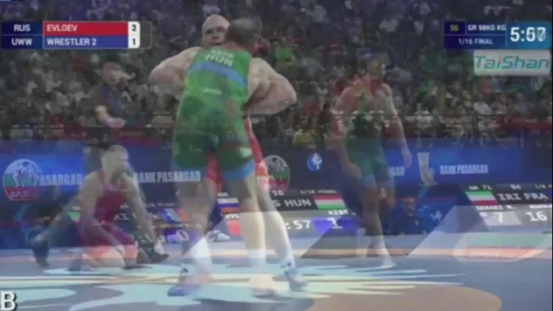 Муса Евлоев - серебряный призер ЧМ по греко-римской борьбе