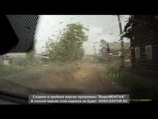 СМОТРЕТЬ ВСЕМ! Смерч в Карпогорах. 30.07.2017
