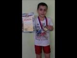 Равшан Гусейнов занял 1 место в соревнованиях по вольной борьбе в своем весе.